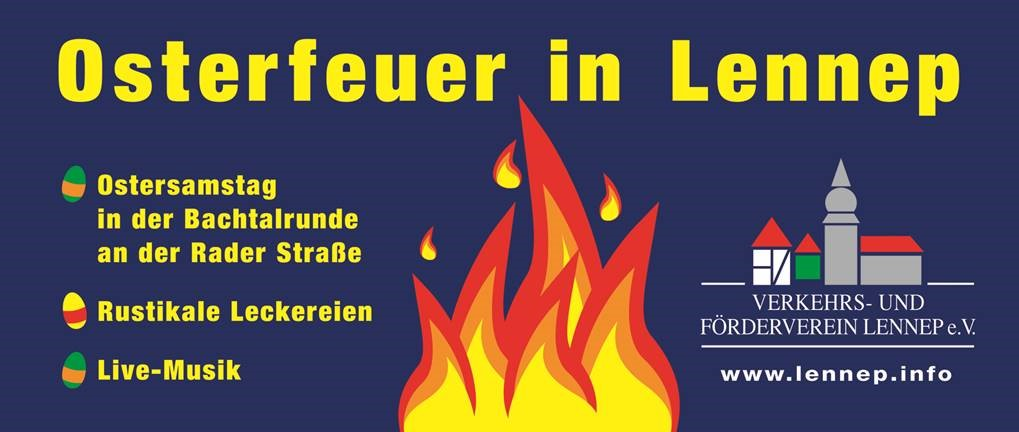 Banner Osterfeuer